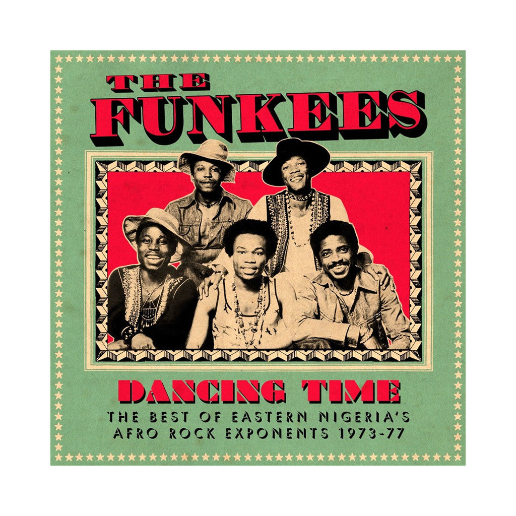 <!--020120410000836-->The Funkees - 'Dancing Time: The Best Of Eastern Nigeria's Afro Rock Exponents 1973-77' [(Black) Vinyl [2LP]]