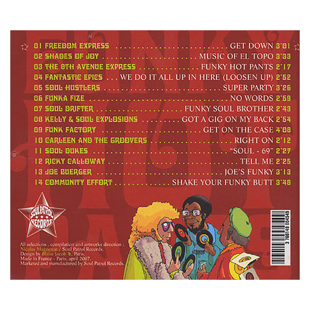 <!--2008081956-->Various Artists - 'Funky Hot Pants: 14 Super Rare Original Funk Monsters From The Late 60's To The Early 70's' [CD]