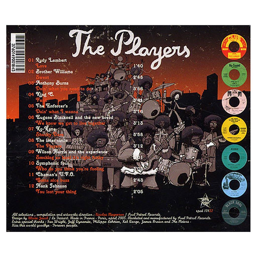 <!--020080610013982-->Various Artists - 'The Players' [CD]
