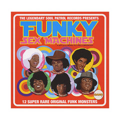 Various Artists - 'Funky Sex Machines: 12 Super Rare Original Funk Monsters From The Late 60's To The Early 70's' [CD]