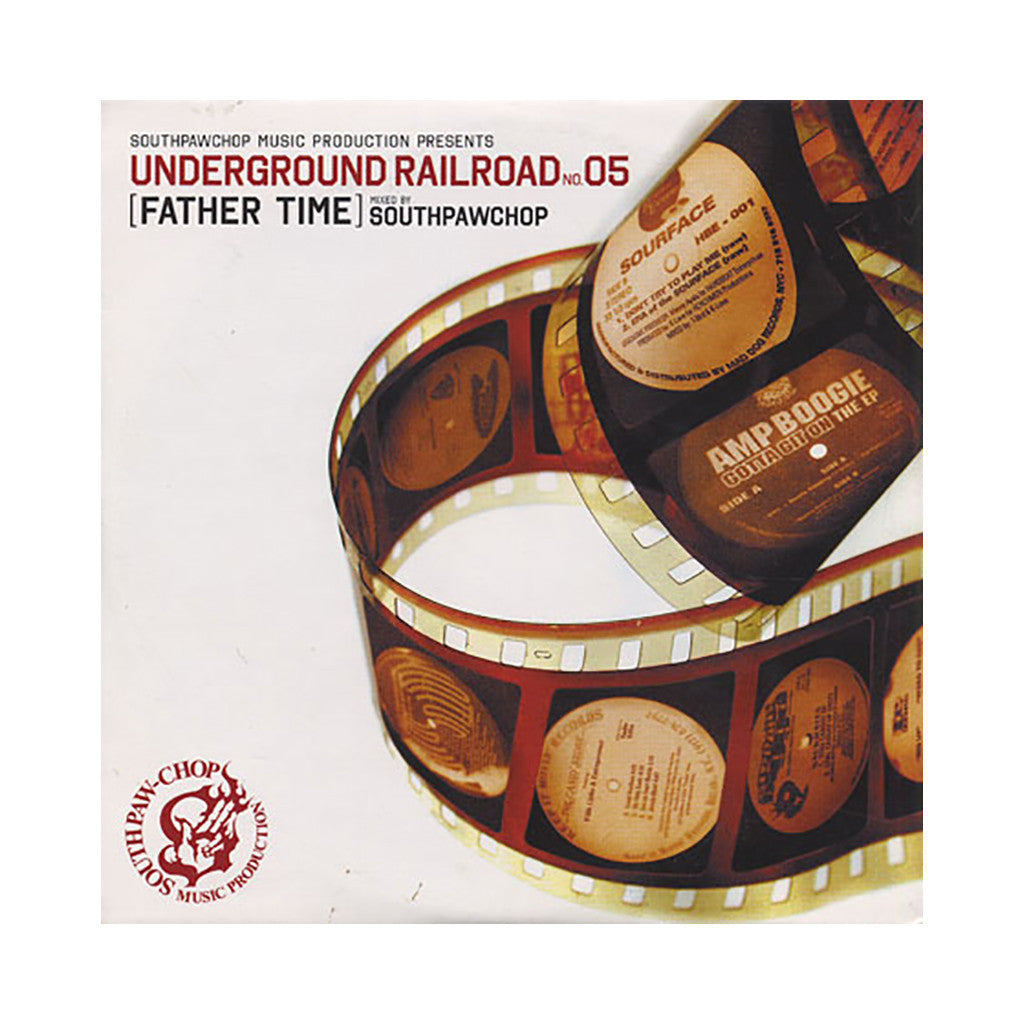 <!--020100511021496-->Southpaw Chop - 'Father Time: Underground Railroad No. 05' [CD]