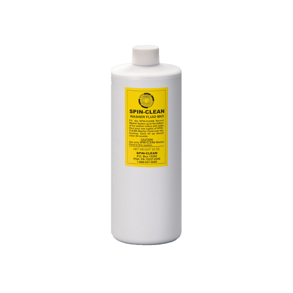 <!--019000101001069-->Spin-Clean - 'MKII Record Washer Fluid (32 oz)' [Cleaning Tool]