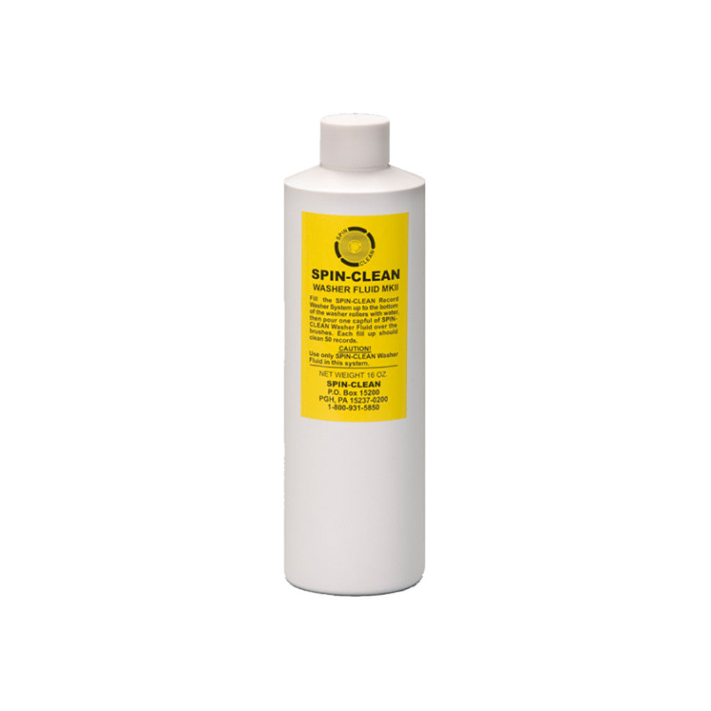 <!--019000101001068-->Spin-Clean - 'MKII Record Washer Fluid (16 oz)' [Cleaning Tool]