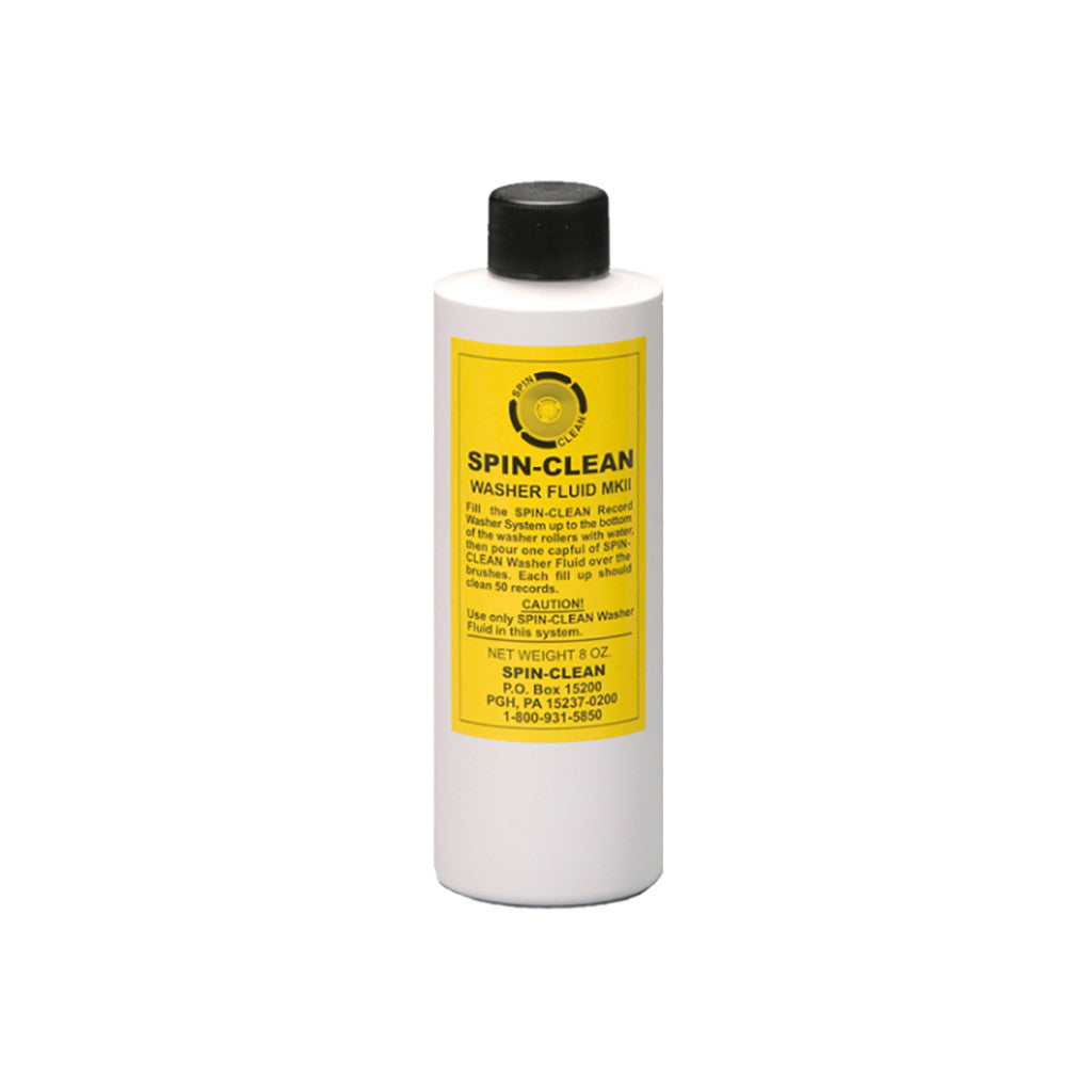 <!--019000101001070-->Spin-Clean - 'MKII Record Washer Fluid (8 oz)' [Cleaning Tool]