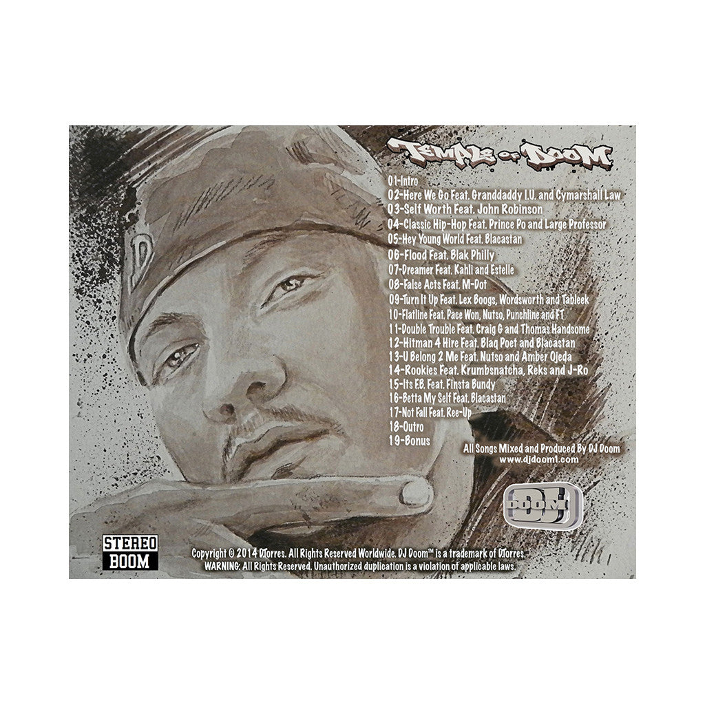 <!--2011072651-->DJ Doom - 'Temple Of Doom' [CD]