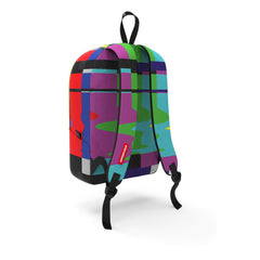 <!--020140805064803-->Sprayground - 'Static Fuzz' [(Multi-Color) Backpack]