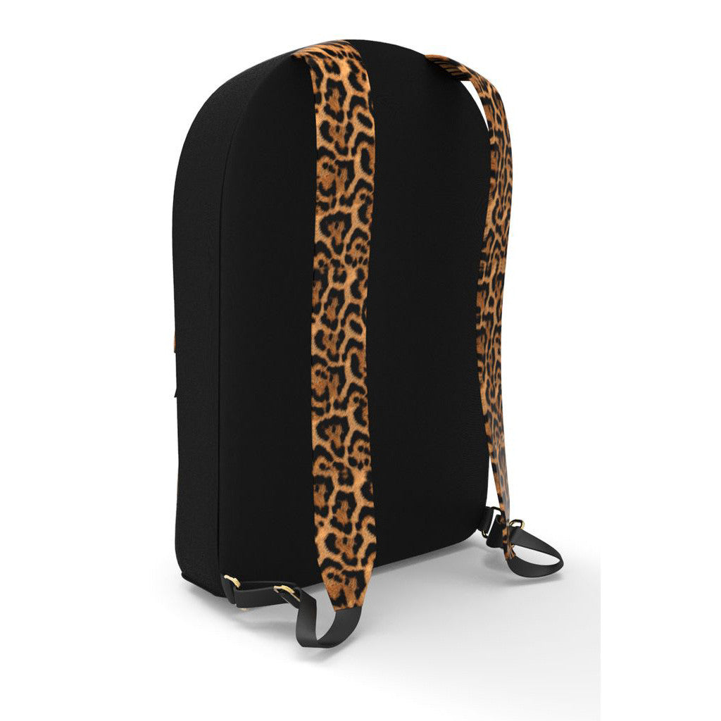 <!--020140805064805-->Sprayground - 'Sneak Attack: Leopard' [(Black) Backpack]