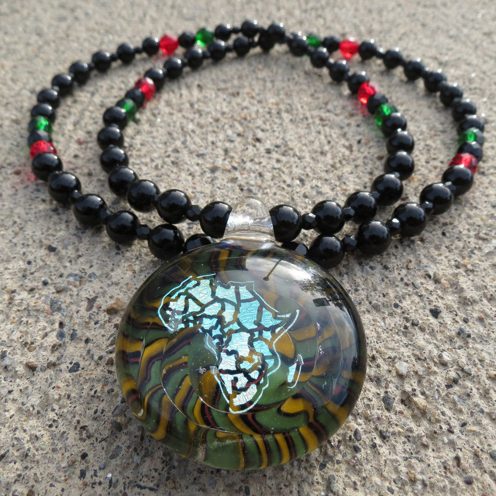 <!--020140725065048-->Straight Path Jewlz - 'Africa' [(Multi-Color) Necklace]