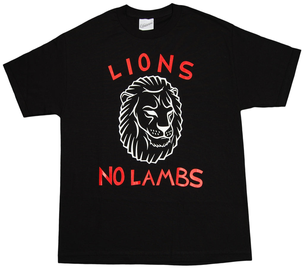 <!--2012092539-->Spksmen - 'Lions No Lambs' [(Black) T-Shirt]