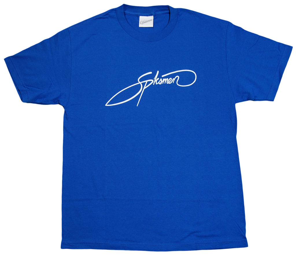 <!--2012092523-->Spksmen - 'Signature Logo' [(Blue) T-Shirt]