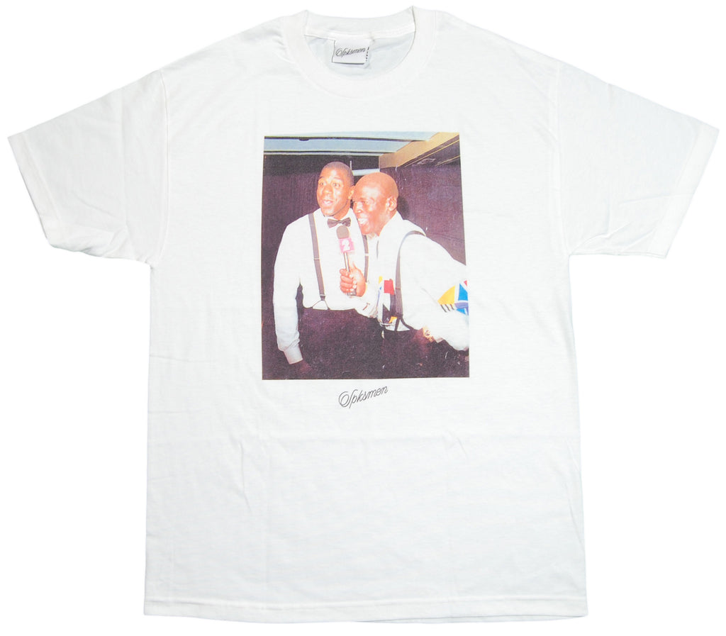 <!--2012061933-->Spksmen - 'Magic Mike' [(White) T-Shirt]