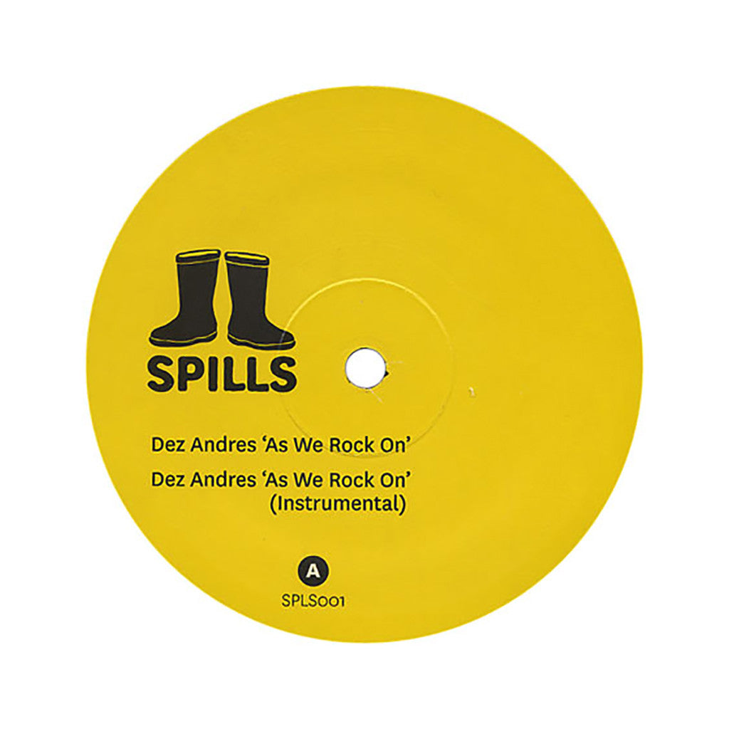 "Dez Andres - 'As We Rock On/ A Time To Boogie' [(Black) 12"" Vinyl Single]"