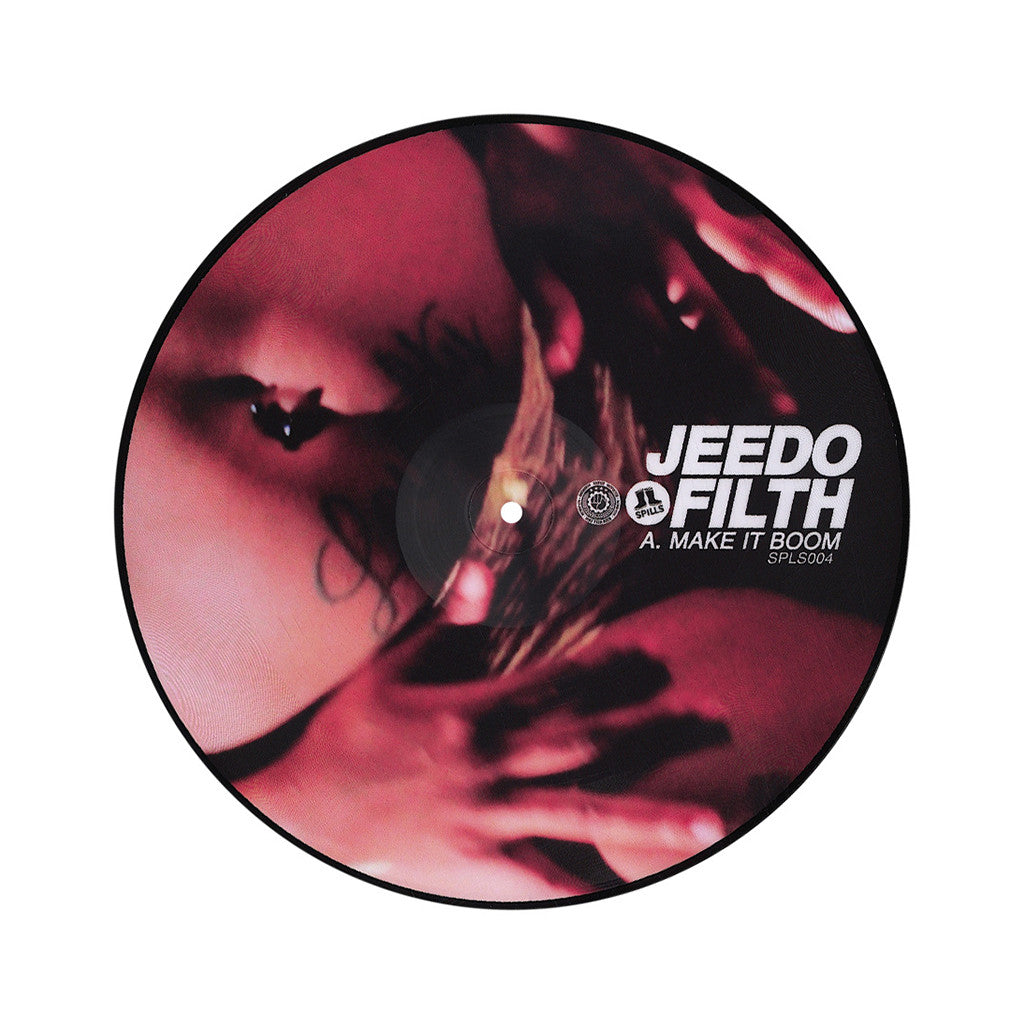 "<!--020121016050077-->Jeedo - 'Make It Boom/ Let It All Hangout' [(Picture Disc) 12"" Vinyl Single]"