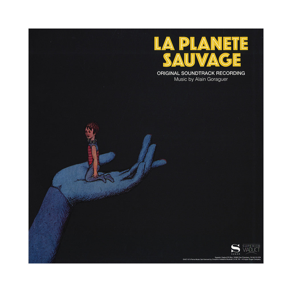 Alain Goraguer - 'La Planete Sauvage (Original Soundtrack Recording)' [(Black) Vinyl LP]