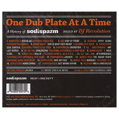 Various Artists (Mixed By: DJ Revolution) - 'One Dub Plate At A Time: A History Of Soulspazm' [CD]