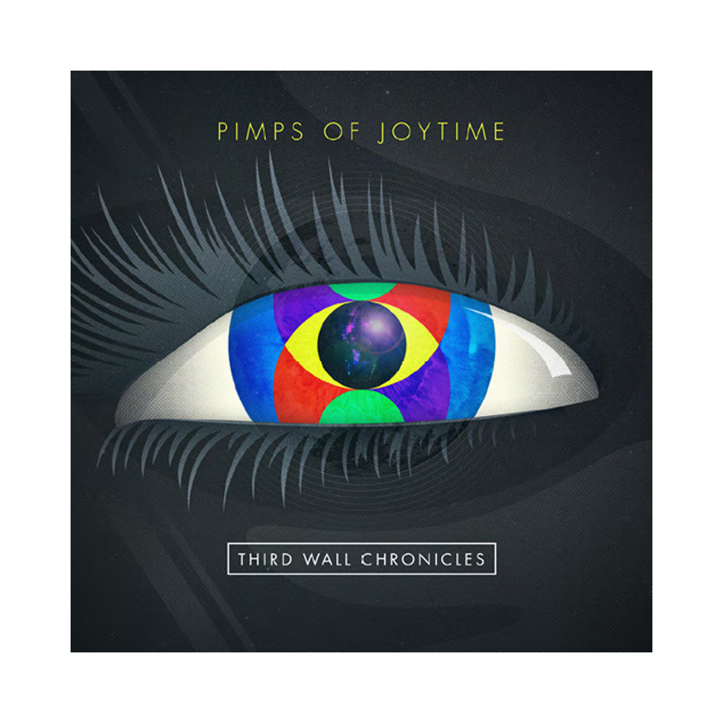 The Pimps Of Joytime - 'Third Wall Chronicles' [(Black) Vinyl LP]