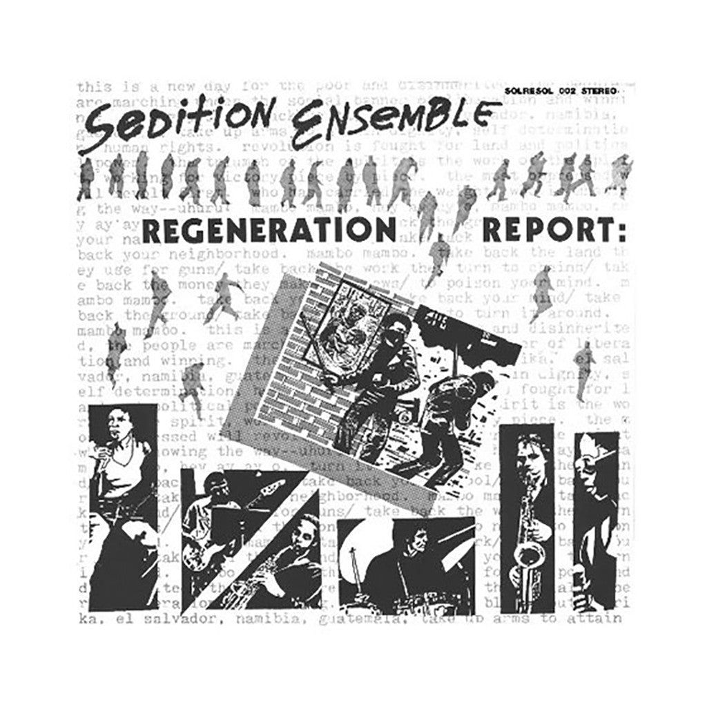 <!--120120320042669-->Sedition Ensemble - 'Regeneration Report' [(Black) Vinyl LP]