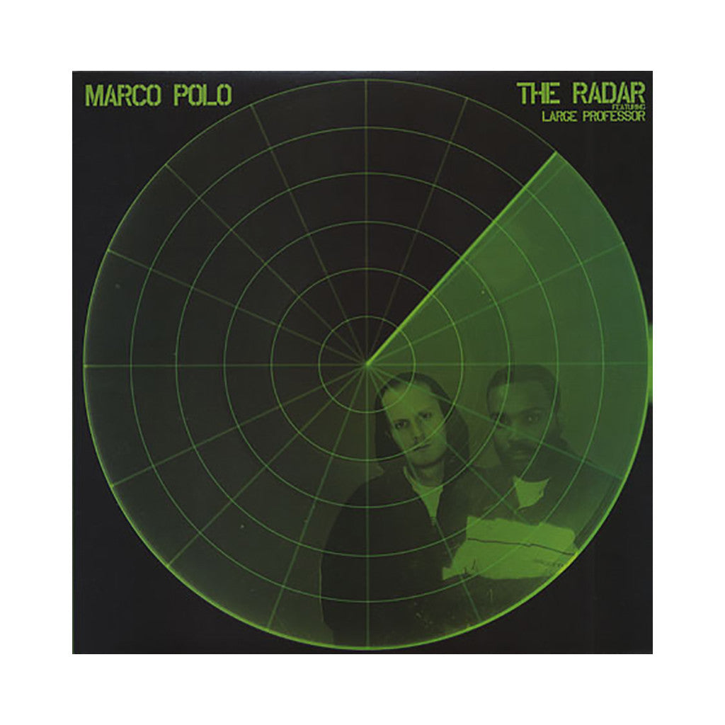 "<!--2007110648-->Marco Polo - 'The Radar/ The Radar (Remix)/ Marquee' [(Black) 12"" Vinyl Single]"