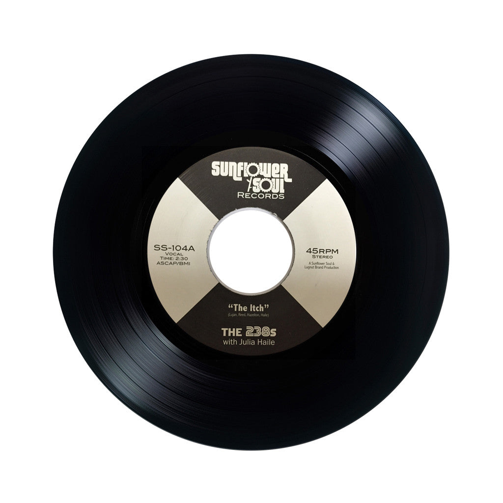 "The 238s - 'The Itch/ The Scratch' [(Black) 7"" Vinyl Single]"