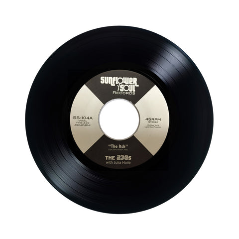 "The 238s - 'The Itch/ The Scratch' [(Black) 7"""" Vinyl Single]"