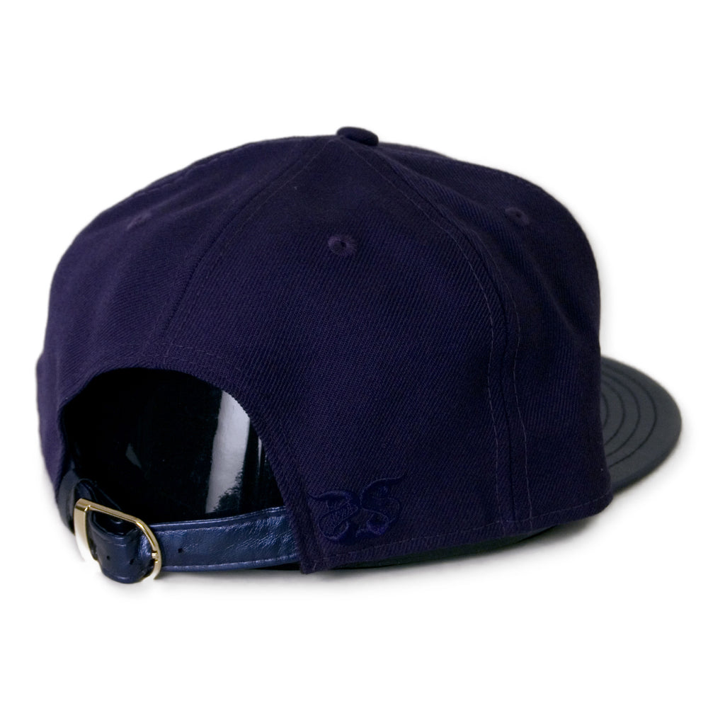 <!--020141121067353-->Secret Society - 'Globe' [(Dark Blue) Strap Back Hat]