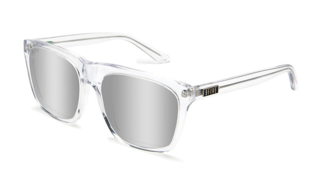 <!--020120612046128-->9five Eyewear - 'Cults: Clear (MIRROR LENS)' [(Clear) Sunglasses & Eyewear]