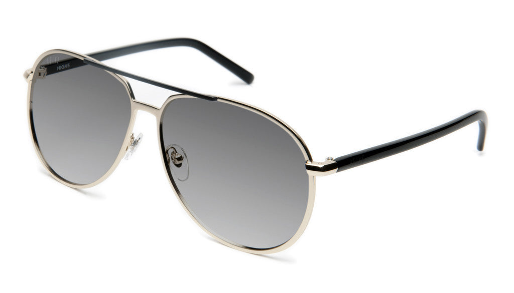 <!--020120612046121-->9five Eyewear - 'Highs: Gold' [(Gold) Sunglasses & Eyewear]
