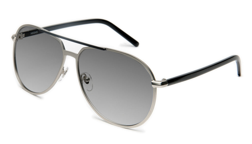 <!--020120612046120-->9five Eyewear - 'Highs: Silver' [(Silver) Sunglasses & Eyewear]