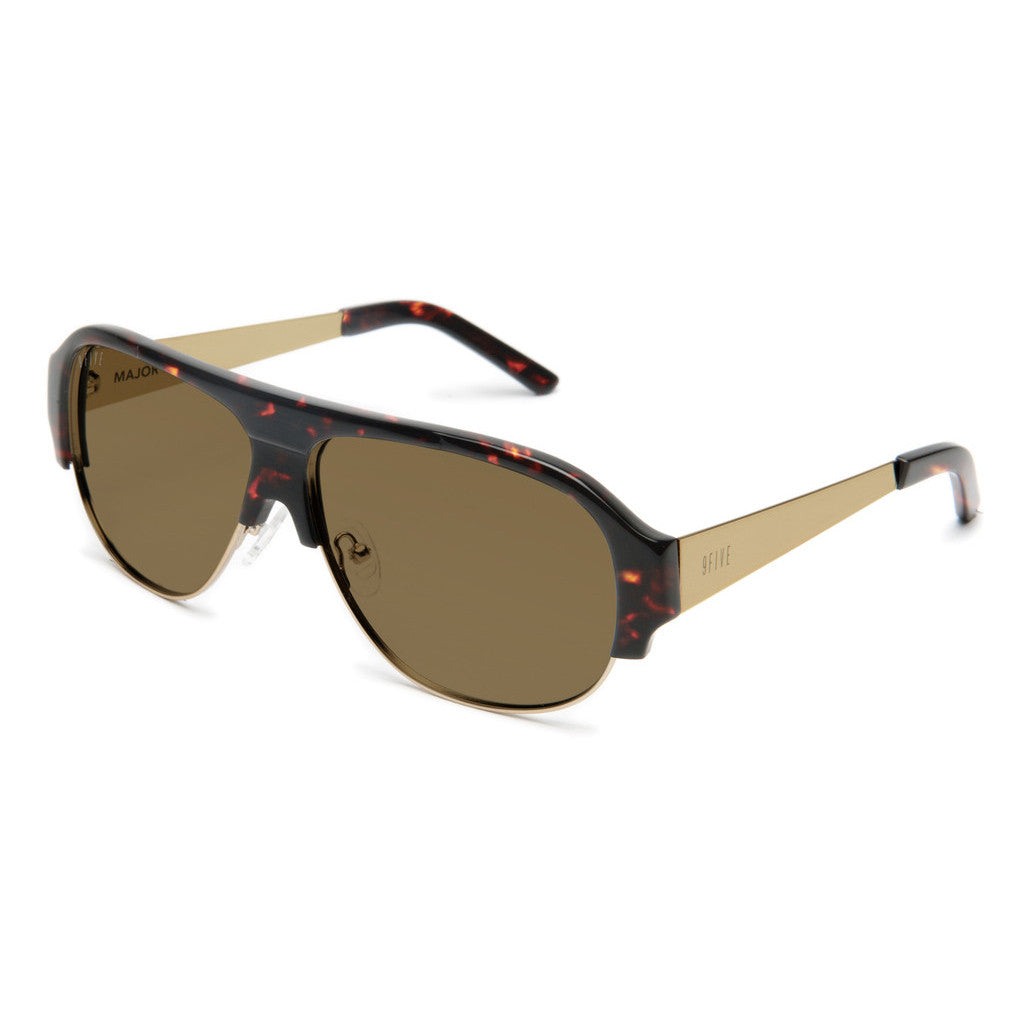 <!--020120710046974-->9five Eyewear - 'Majors II: Tortoise' [(Brown) Sunglasses & Eyewear]