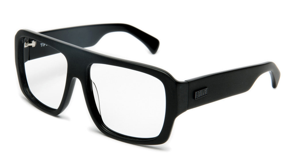 <!--020120612046104-->9five Eyewear - 'Tips: Matte Black (CLEAR LENS)' [(Black) Sunglasses & Eyewear]
