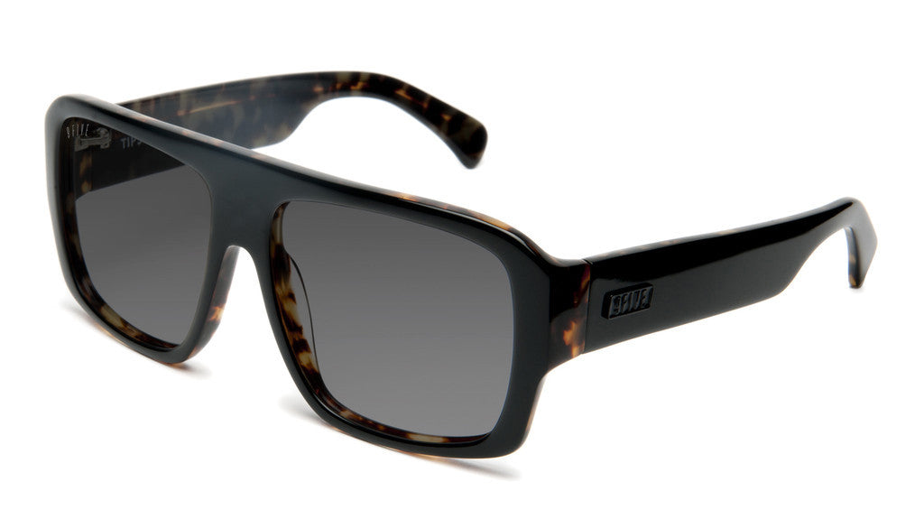 <!--2012061236-->9five Eyewear - 'Tips: Black/ Olive Tortoise' [(Black) Sunglasses & Eyewear]
