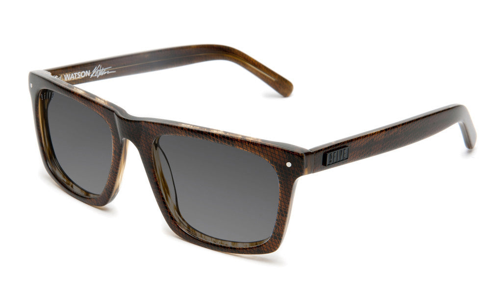 <!--020120612046086-->9five Eyewear x Karl Watson - 'Watson: Brown Snake' [(Brown) Sunglasses & Eyewear]