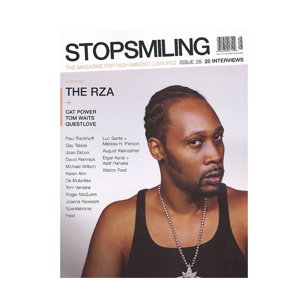 <!--019000101001024-->Stop Smiling - 'Issue 28' [Magazine]