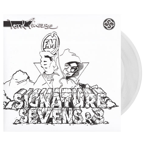 "[""Lord Finesse - 'Pull Ya Card/ Check Me Out Baby Pah (Signature Sevens Vol. 3)' [(Clear) 7\"" Vinyl Single [2x7\""]]""]"