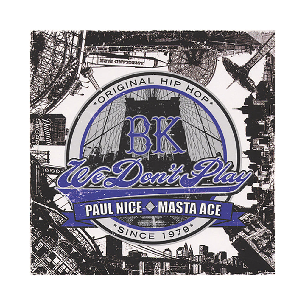 "<!--020110802030414-->Paul Nice - 'BK (Remix)/ BK' [(Black) 7"" Vinyl Single]"