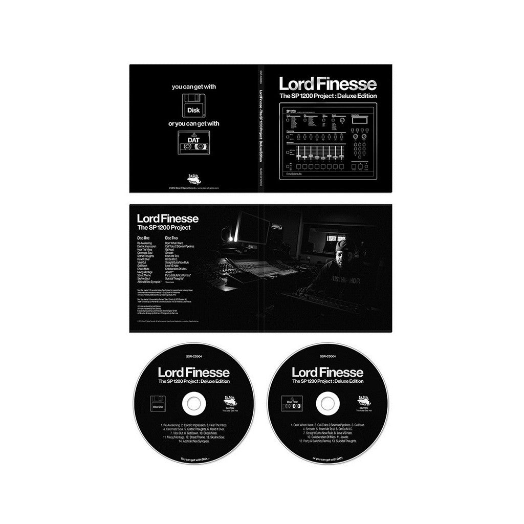 <!--020140812064902-->Lord Finesse - 'The SP1200 Project: Deluxe Edition' [CD [2CD]]