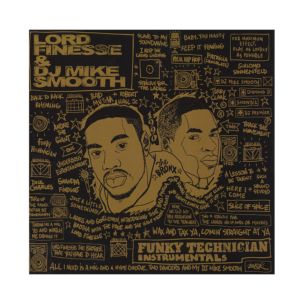 <!--020121002002388-->Lord Finesse & DJ Mike Smooth - 'Funky Technician (Instrumentals)' [(Black) Vinyl [2LP]]