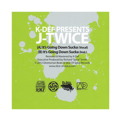 "<!--120130108050909-->K-Def Presents J-Twice - 'It's Going Down Sucka (K-Def Signature Sevens Vol. 2)' [(Black) 7"" Vinyl Single]"