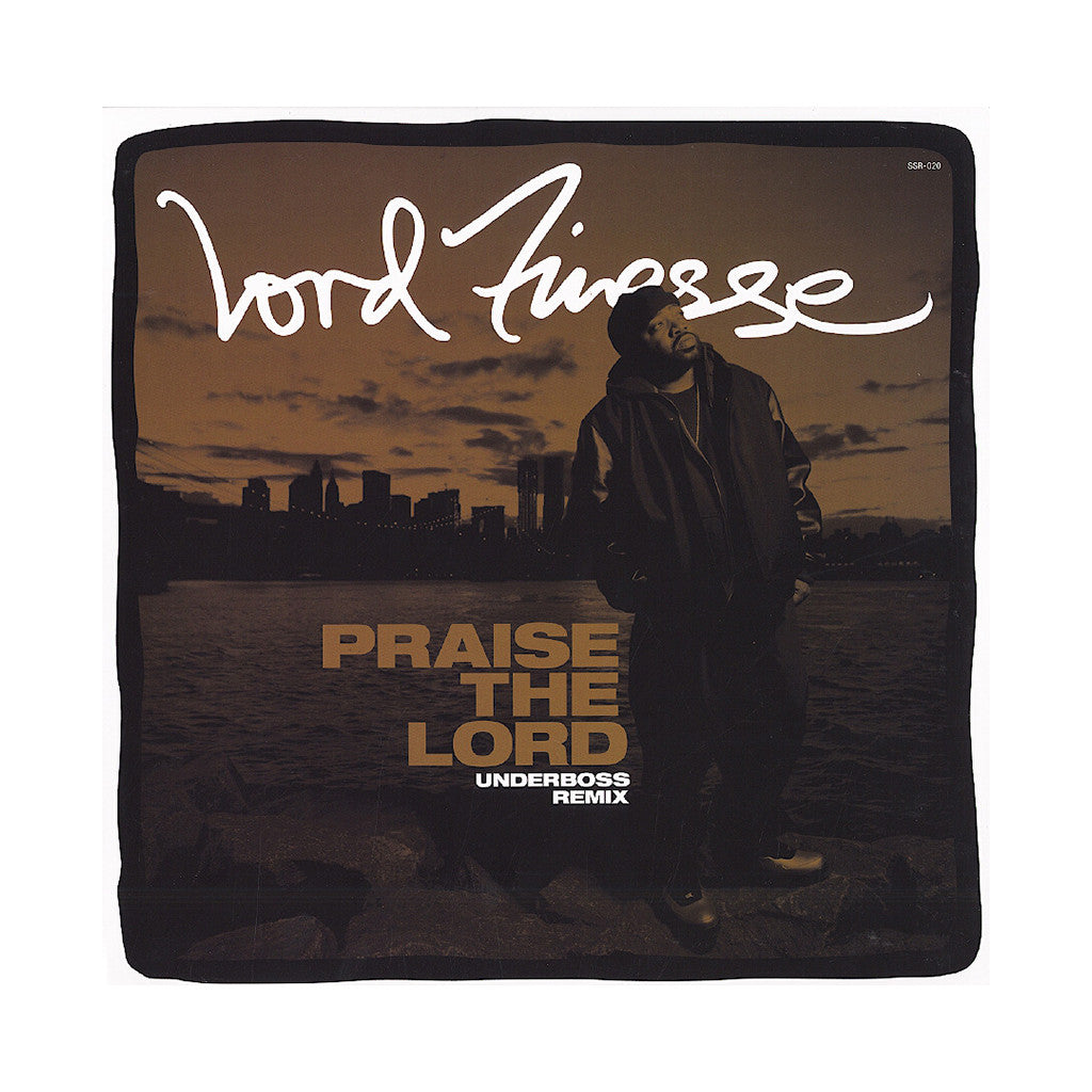 "<!--120130917059316-->Lord Finesse - 'Praise The Lord (Underboss Remix)' [(Black) 12"" Vinyl Single]"