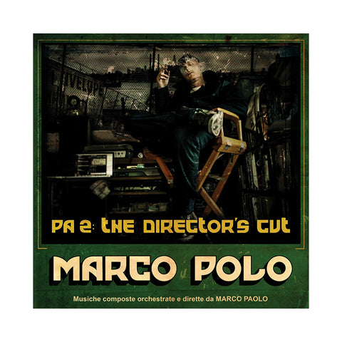 "[""Marco Polo - 'PA 2: The Director's Cut (Port Authority 2) (Special Edition)' [(Olive Green w/ Bone & Black Splatter) Vinyl [3LP]]""]"