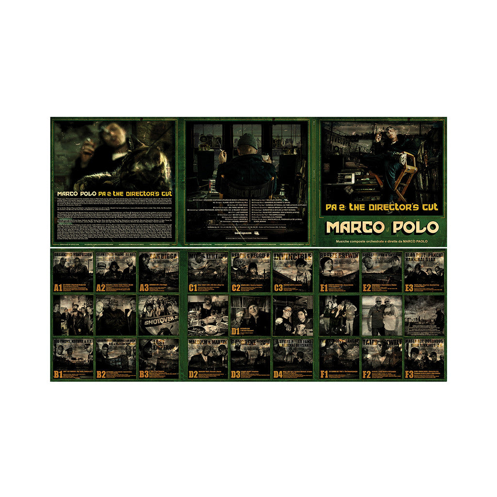 <!--2013121719-->Marco Polo - 'PA 2: The Director's Cut (Port Authority 2) (Deluxe Edition)' [(Black) Vinyl [3LP]]