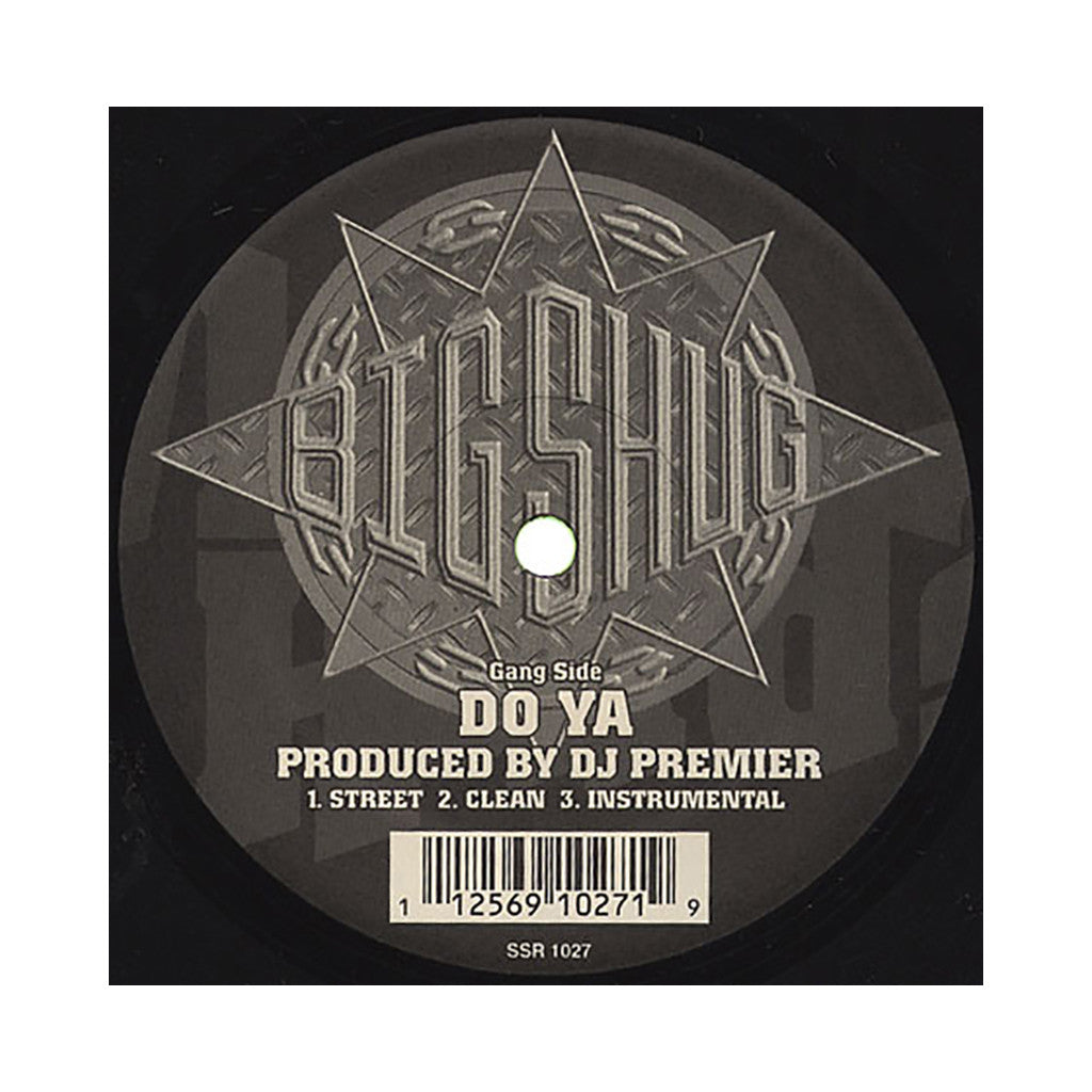 "<!--020050830005720-->Big Shug - 'Do Ya/ On The Record' [(Black) 12"""" Vinyl Single]"