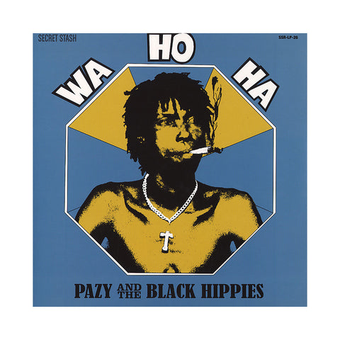 "[""Pazy & The Black Hippies - 'Wa Ho Ha' [CD]""]"