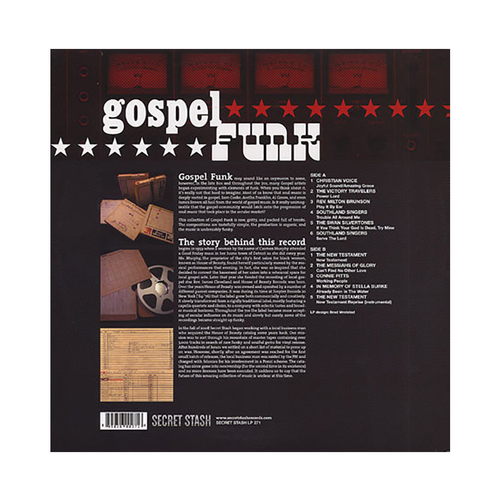 Various Artists - 'Gospel Funk' [(Black) Vinyl LP]