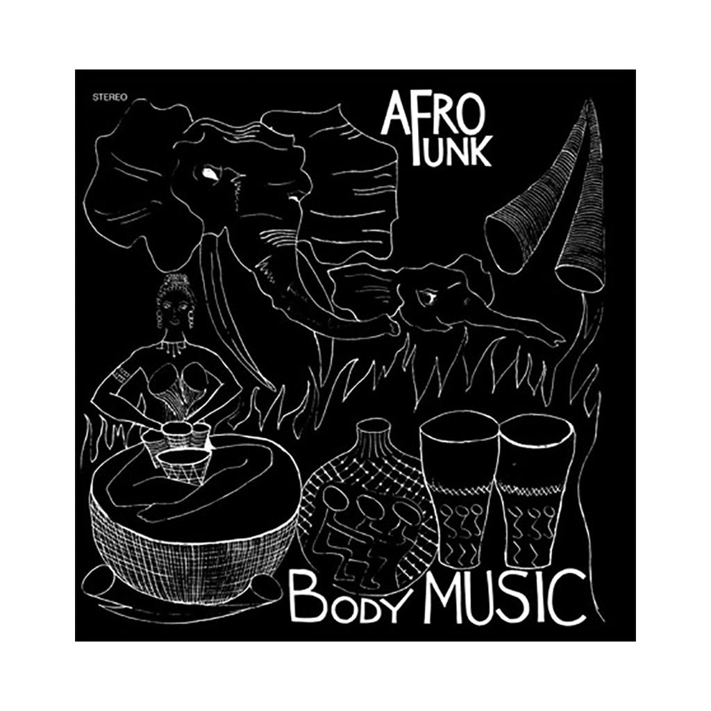 Afro Funk - 'Body Music' [(Black) Vinyl LP]