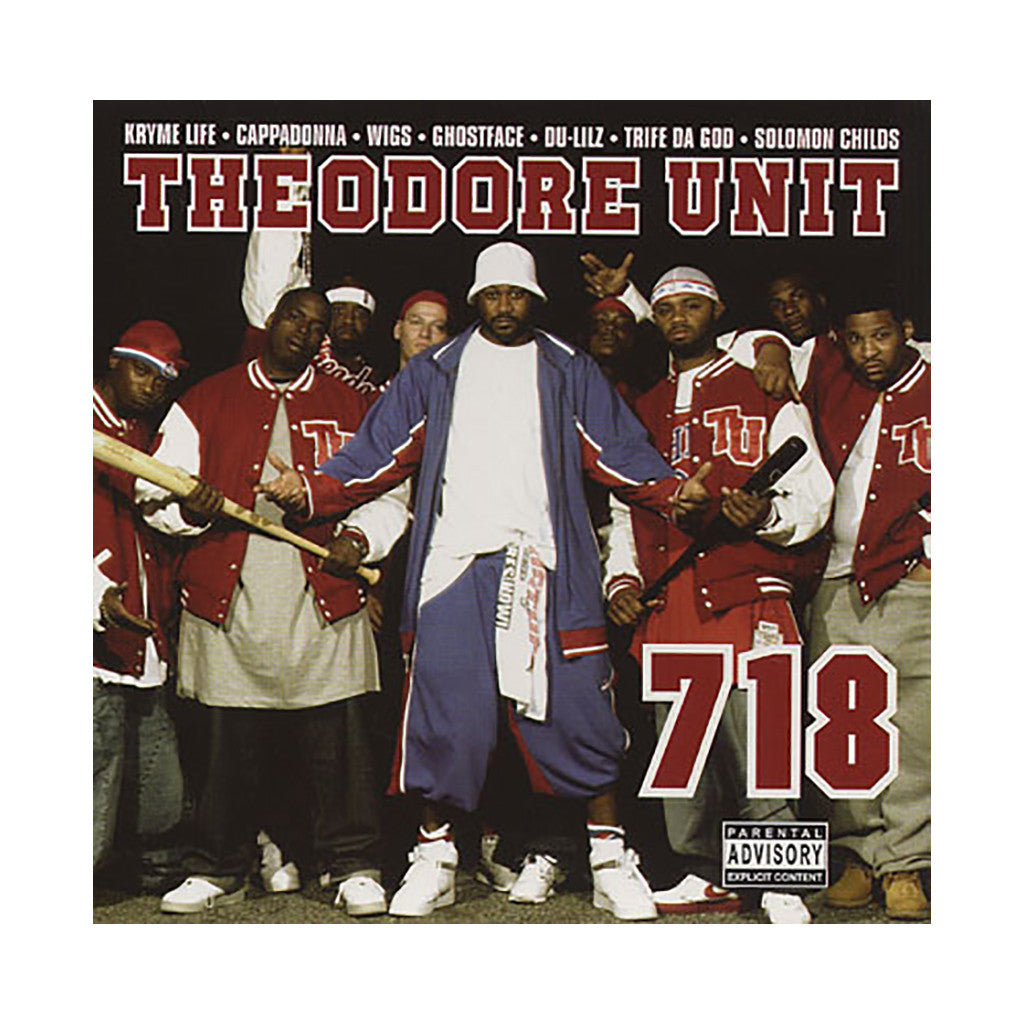 <!--020040803000686-->Theodore Unit - '718' [CD]