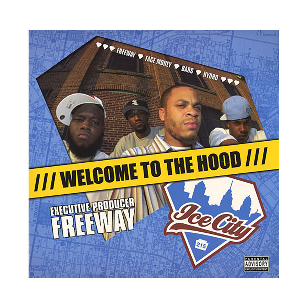 <!--020040914003099-->Ice City - 'Welcome To The Hood' [CD]