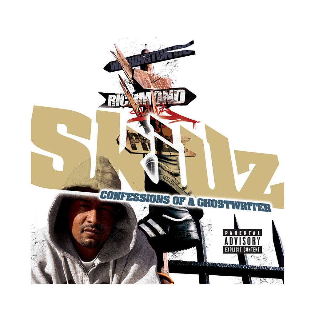 <!--020050913005599-->Skillz - 'Confessions Of A Ghost Writer' [CD]
