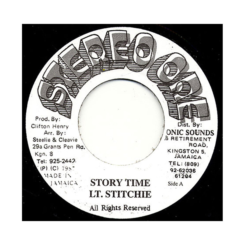<!--2008051535-->Lt. Stitchie - 'Story Time' [Streaming Audio]