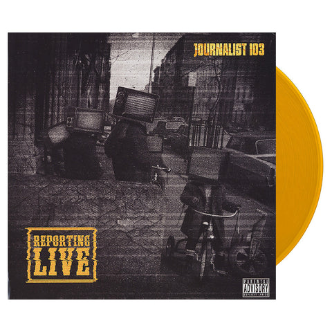 Journalist 103 - 'Reporting Live' [(Dark Yellow) Vinyl LP]